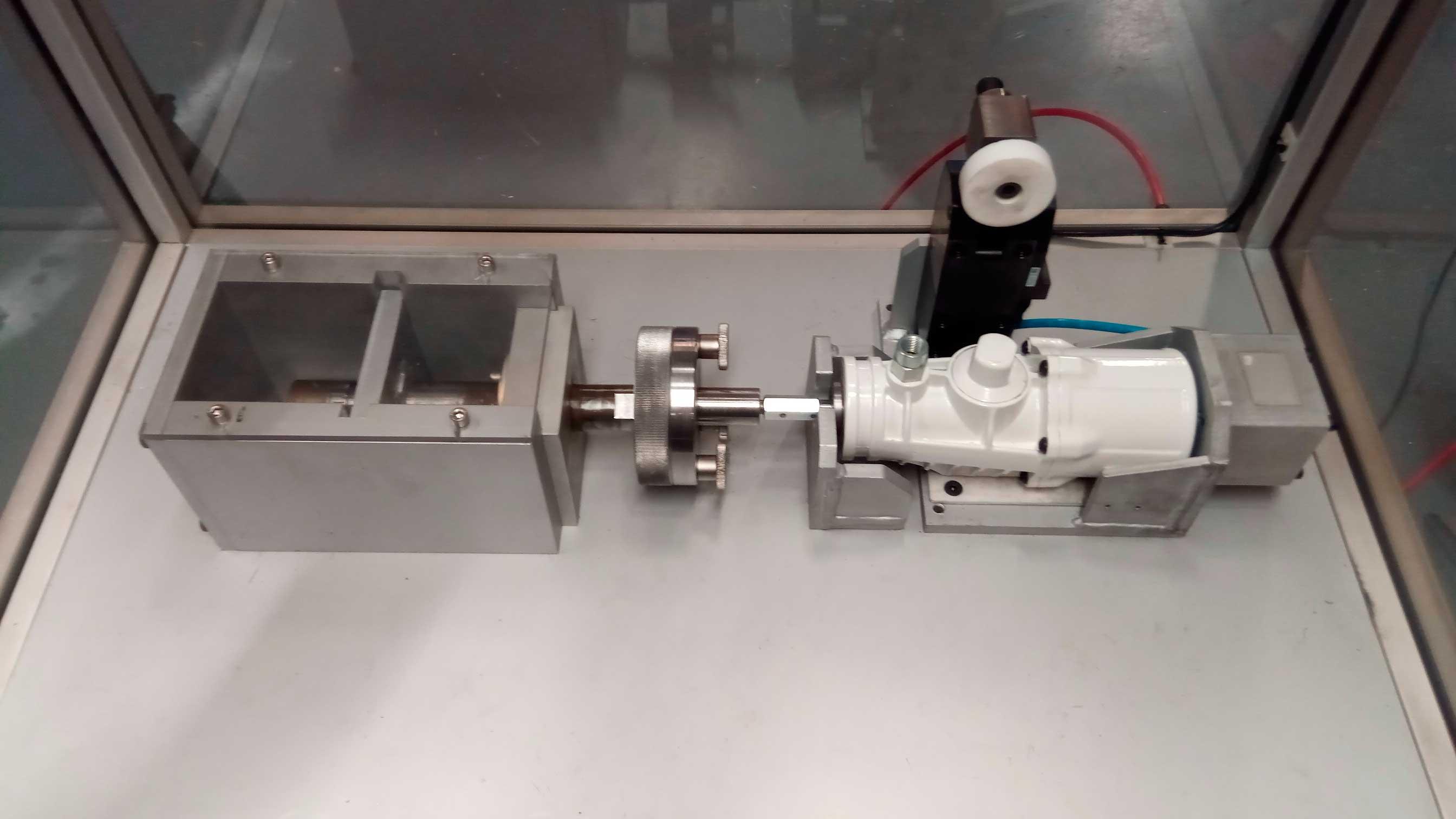 Equipo de verificación de fuga para motores neumáticos
