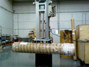 Manipulador bobinas de papel