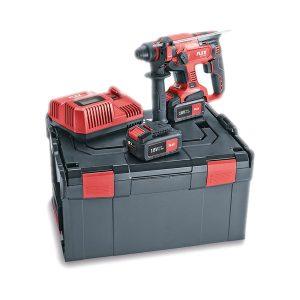 Martillo perforador combinado con 2 baterías 18V