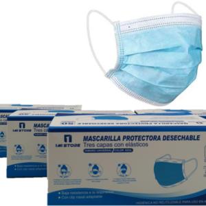 MASCARILLA DESECHABLE 3PLY